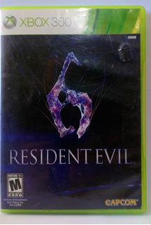 Resident Evil 6 Usado Xbox 360