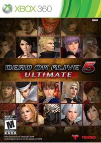 Dead Or Alive 5 Ultimate - Xbox 360 / Original E Lacrado!