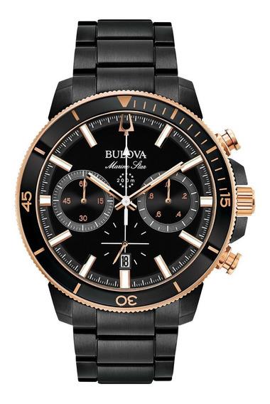 Reloj Bulova Marine Star Entrega Inmediata Garantia Negro