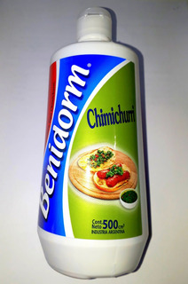 Aderezo Salsa Chimichurri Benidorm Pomo X 500 Gr Equipeshop