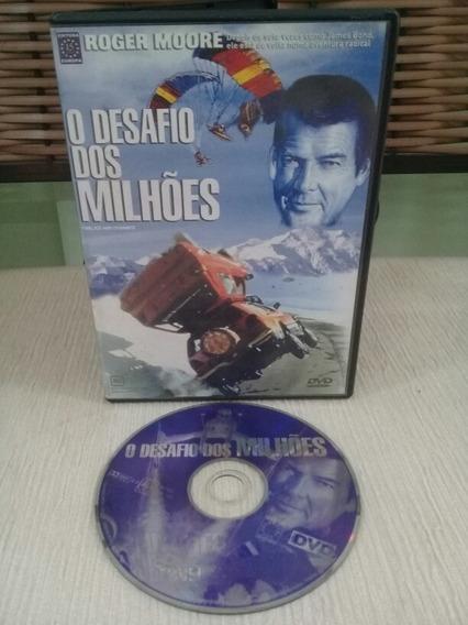 Dvd O Desafio Dos Milhões - Roger Moore