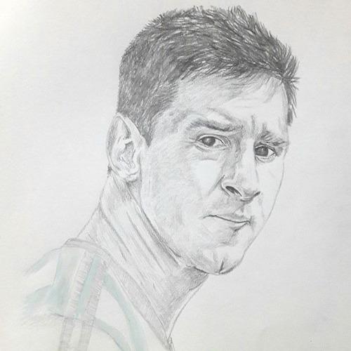 Dibujo Retrato A Lápiz Grafito Negro 35x50cm.(sólo 1persona)