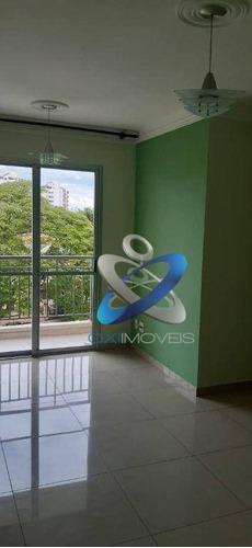 Apartamento Com 3 Dormitórios À Venda, 62 M² Por R$ 320.000 - Jardim Augusta - São José Dos Campos/sp - Ap2662