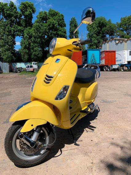 Vespa Vxl 150 Amarillo Como Nuevo