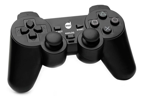 Controle Maxprint Preto Dual Shock Para Pc 621322 24170
