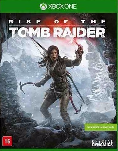 Rise Of The Tomb Raider Mídia Física Xbox One Novo