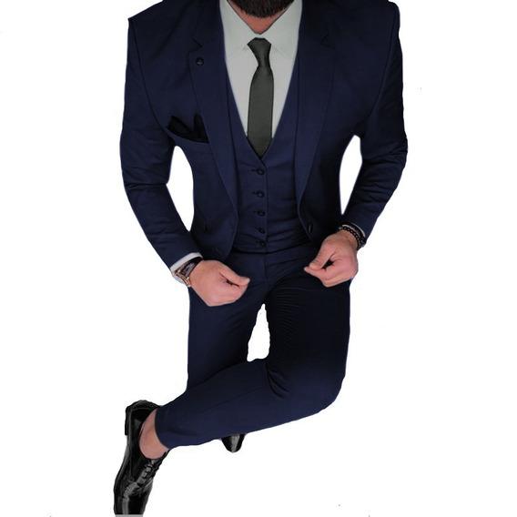 Zapatos Y Cinto Con Traje Satinado Vestir Entallado Import