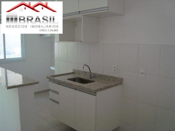 Lindo Apartamento 02 Dormitórios, Locação, Novo Com Armários, Jardim Dos Taperás, Salto, Sp. - Ap00613 - 33892390