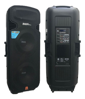 Bafle Columna Moon Wild215aup Activa 1500w Usb Bluetooth Sd