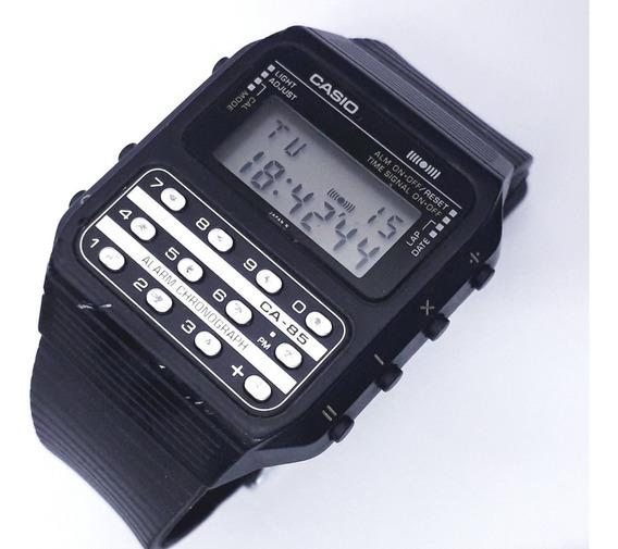 Relógio Casio Calculadora Ca-85 Game Watch Raro Década De 80