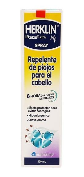 Herklin Nf Repelente 120 Ml 1 Solución
