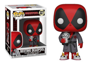 Funko Pop Deadpool Bedtime #327 Marvel Jugueterialeon