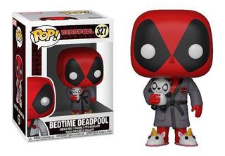 Funko Pop Deadpool Bedtime #327 Marvel Jugueterialeon