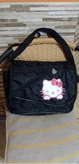 Bolso Morral Escolar Hello Kitty Original. Impecable!oferta.