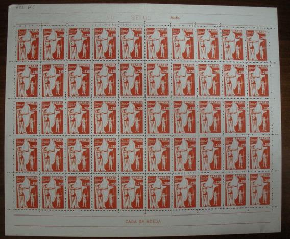 @brasil Comem. Rhm 422y Nn- Folha Com 50 Selos (1958 )@