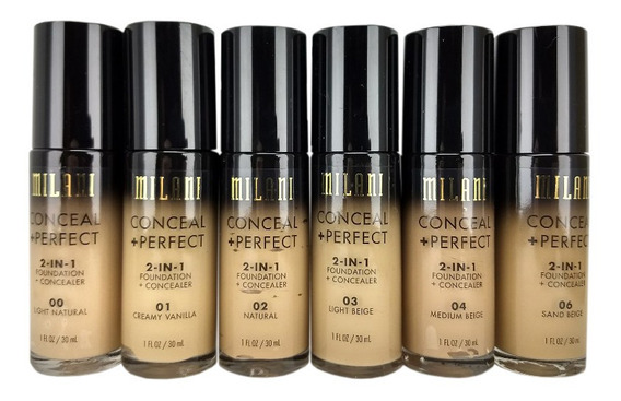 Milani Base Conceal + Perfect 2in1 Foundation 30ml Promoção