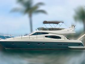 Lancha Ferretti 53 Barco Iate N Azimut Phantom Intermarine