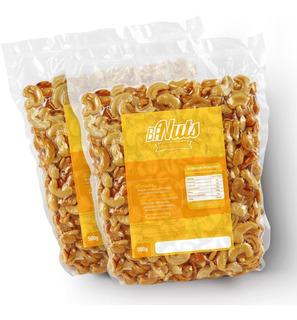 Castanha De Caju Em Bandas - 1kg - Bandas/ Torrada/ Sem Sal