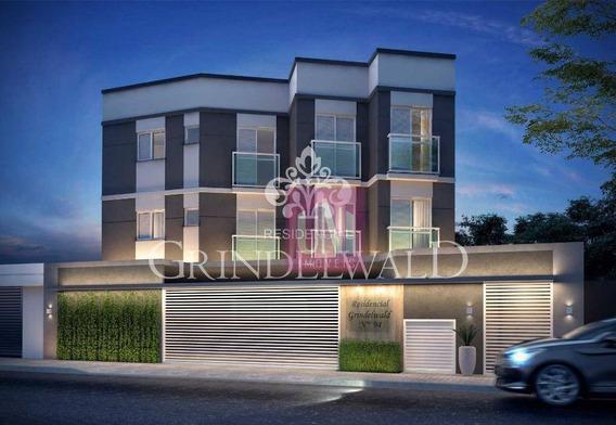 Cobertura Com 2 Dormitórios À Venda, 90 M² Por R$ 279.000 - Vila Guiomar - Santo André/sp - Co0730