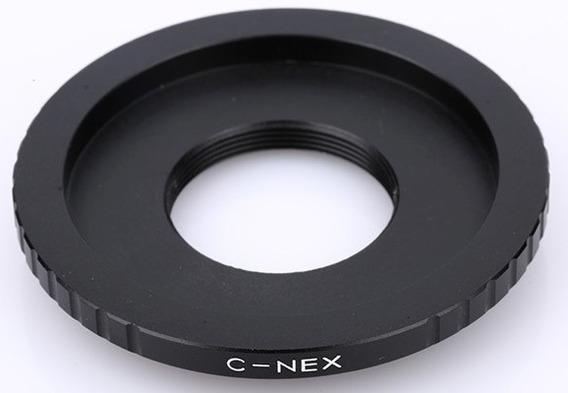 Anel Adaptador Lente Câmera C C-nex Sony Nex-7 6 5 3 C3 F3
