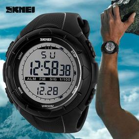 Relógio Skmei 1025 Led Digital Mergulho Esportivo Escalada