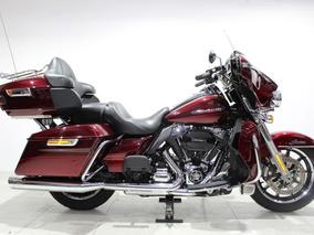 Harley Davidson Electra Glide Ultra Limited 2016 Vermelha