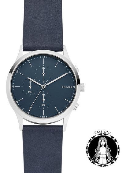 Relógio Skagen Jorn Prata Skw6475/0pn C/ Nf E Garantia O
