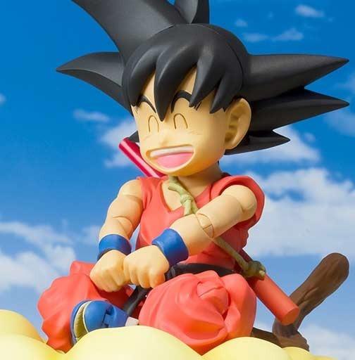 S.h Figuarts Kid Goku Dragon Ball Bandai Frete Gratis