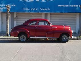 Coupe Chevrolet 1947 Unica, Papeles Todo Ok,