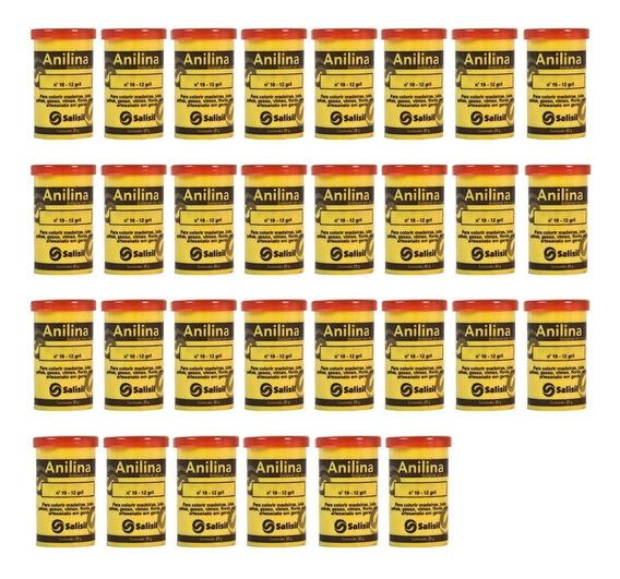 Anilina 25 Gramas Salisil (caixa Com 30 Potes)