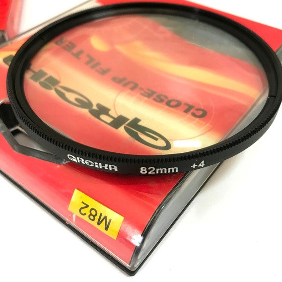 Filtro Close Up 82mm +4 Greika Para Fotogrfia Macro
