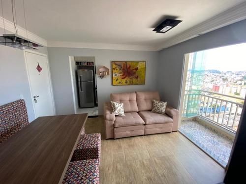 Apartamento Com 2 Dormitórios À Venda, 50 M² - Vila Assunção - Santo André/sp - Ap65676