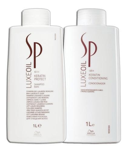 Wella Sp Luxe Oil Keratin - Shampoo + Condicionado 1000ml Nf
