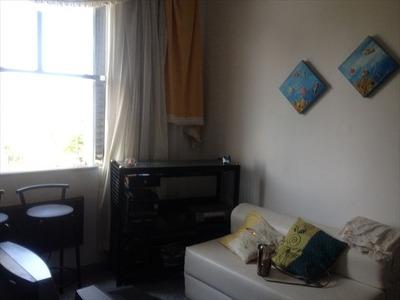 Ref.: 7158 - Apartamento Em Santos, No Bairro Jose Menino - 1 Dormitórios