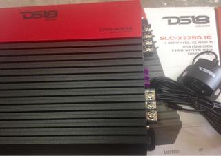 Amplificador Ds18 Slcx2250.1 1 Ch Clase D