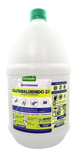 Glutaraldehido 2% Galón - L a $6675