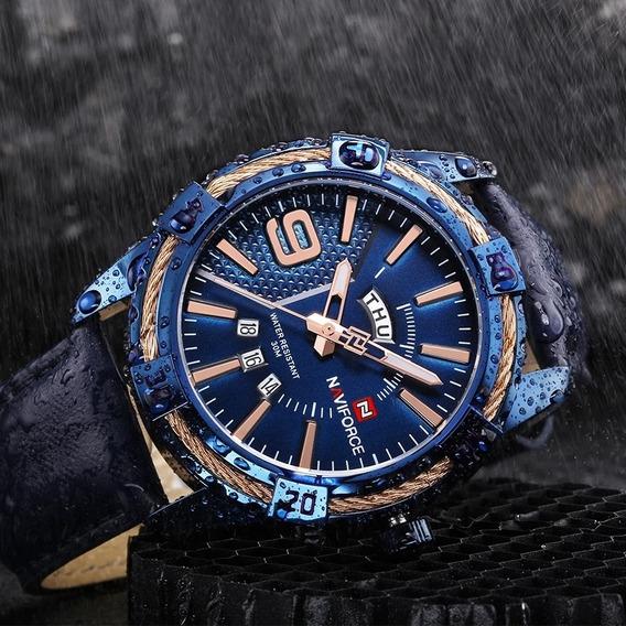 Relógio Masculino Militar Naviforce Nf 9117 Super Promoção