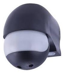 Sensor De Presença Com Foto Célula Preto (moderno)