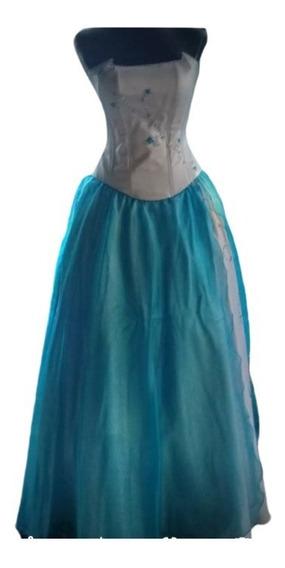 Vestido Quinceañera, Alta Costura, Fiesta. N°7