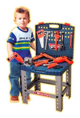 Mesa De Herramientas Taller De Trabajo Infantil Juguetes