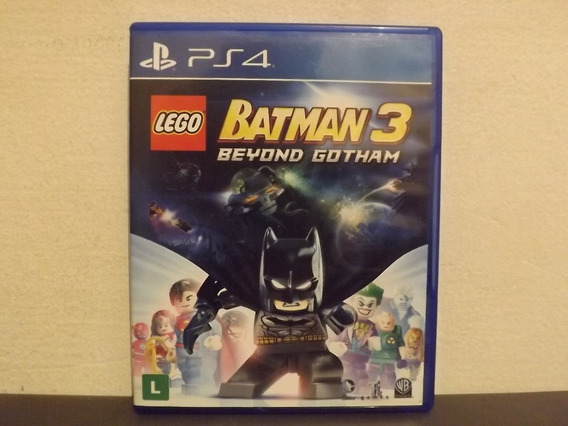 Ps4 Lego Batman 3 - Original - Aceito Trocas...