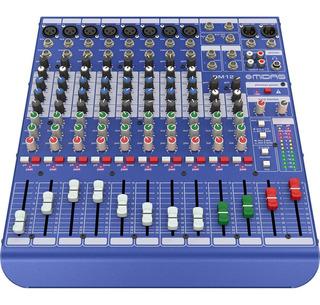 Consola Analogica Midas Dm12 8 Entradas Mono + 2 Stereo
