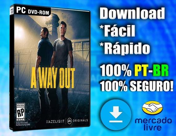 A Way Out - Pc - Completo Em Português! Midia Digital!