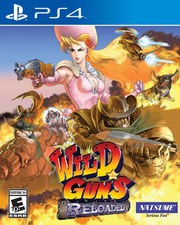 Wild Guns Reloaded - Playstation 4 Ps4 | Vgm