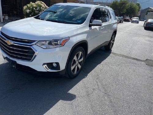 Imagen 1 de 10 de Chevrolet Traverse Lt 2018 Blanca