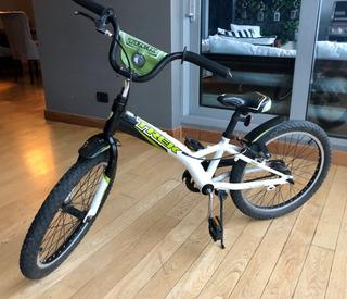 Bicicleta Trek Jet 20 Verde Piñon Fijo