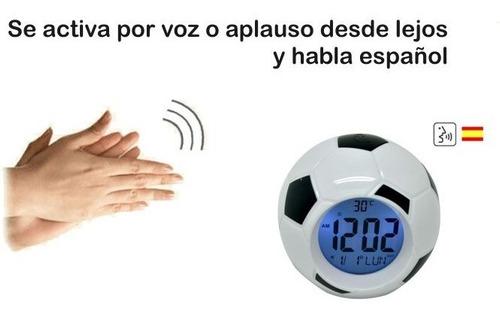Reloj Balón Voz Digital - Habla Dice Hora Y Fecha
