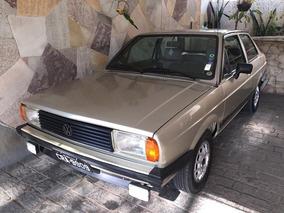 Volkswagen Voyage Plus 1986 - Original - Placa Preta