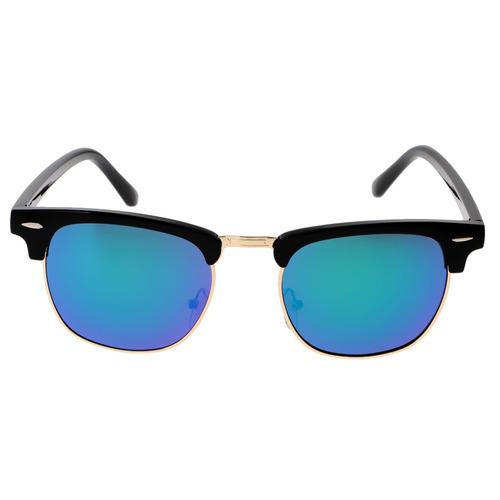 cb46a25891 Classic Half Frame Semi-rimless Rimmed Sunglasses Women Men