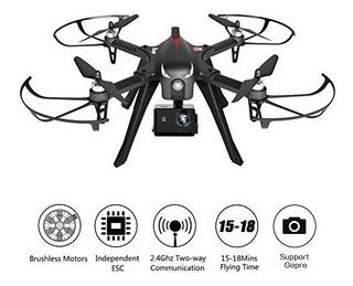 Rctown Brushless Drone Soporte Gopro Camaras De Accion, Rc Q